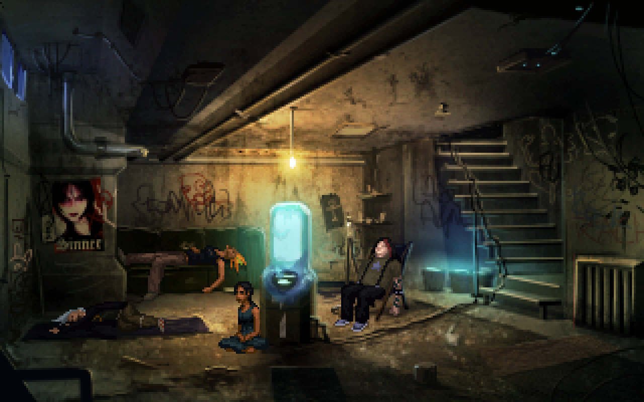 Technobabylon Wadjet Eye Games