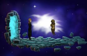The void between worlds.