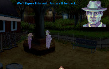 Joey meets a ghost in the park