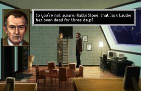 Rabbi's Stone past comes to haunt him